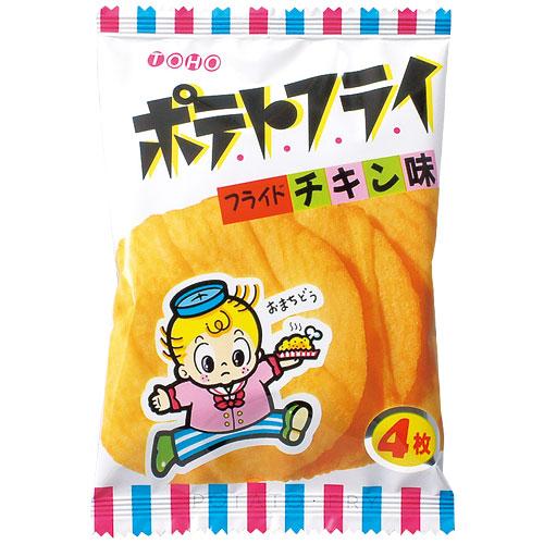 東豊製菓 ポテトフライ フライドチキン味 11g ×20袋 低廉 NEW ARRIVAL 4枚