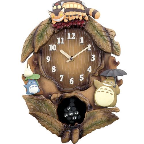 【エントリーでP10倍 8/4 20:00~8/9 01:59】【代金引換不可】キャラクター時計(トトロ) | インテリア とけい 新築祝い プレゼント 結婚祝い 子ども キッズ 子供 かわいい おしゃれ
