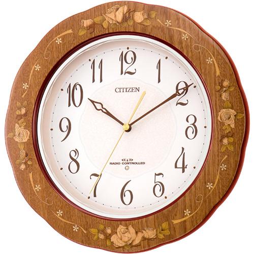 【代金引換不可】 シチズン 電波掛時計DR-138 | CITIZEN シチズン時計 インテリア 壁掛け とけい 新築祝い プレゼント 結婚祝い 掛け時計 リビング ブランド おしゃれ 壁かけ時計 壁掛時計 壁掛け時計 電波掛け時計 電波時計