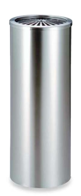 【代金引換不可】ステンレス丸型灰皿1.7L (業務用) | 喫煙室 タバコ 消煙 室内用灰皿 室外用灰皿 灰皿 オフィス イベント 施設