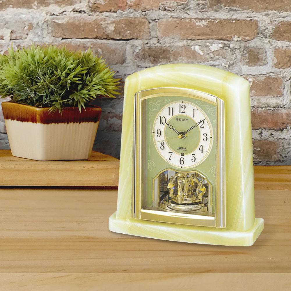 セイコー 電波置時計 | seiko セイコークロック インテリア とけい 新築祝い プレゼント 結婚祝い 置き型 ブランド おしゃれ 電波置き時計