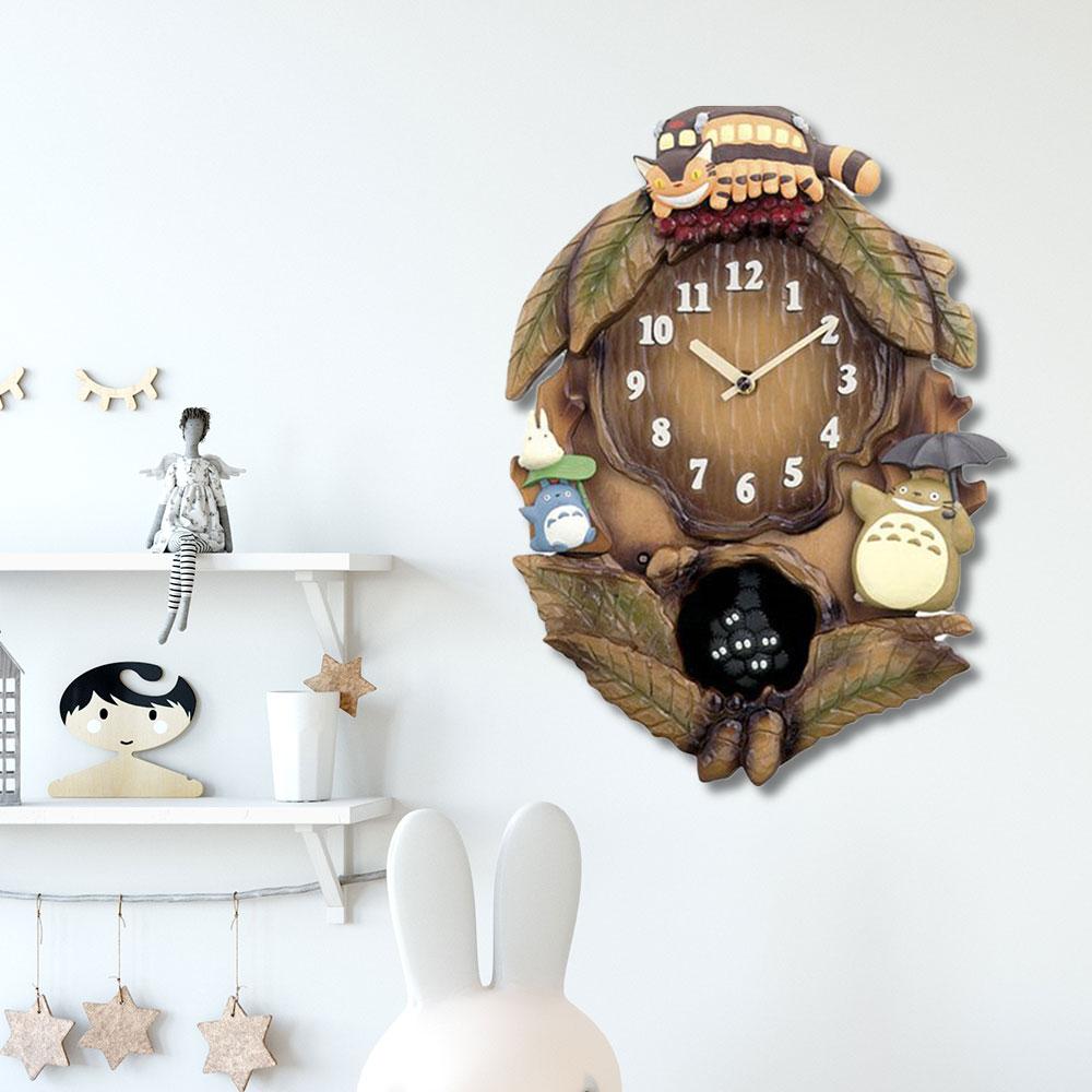 トトロ キャラクター 時計 | インテリア とけい 新築祝い プレゼント 結婚祝い 子ども キッズ 子供 かわいい おしゃれ