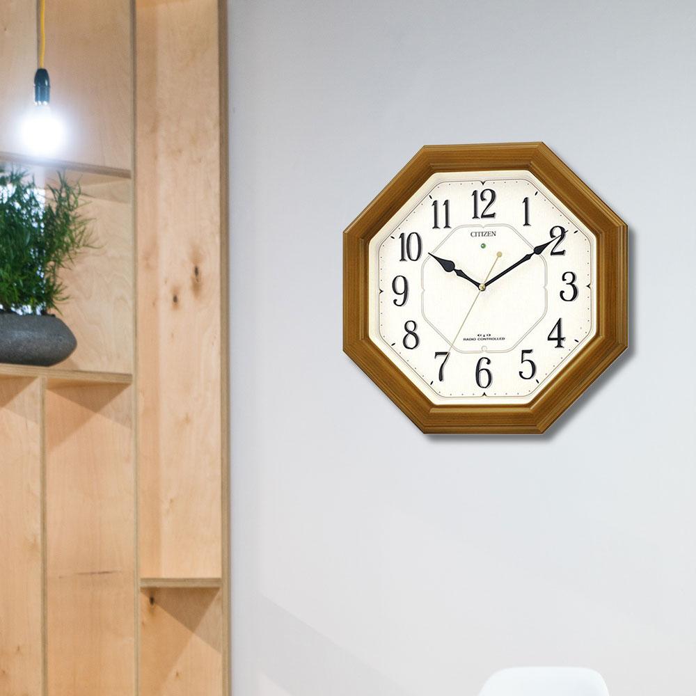 ネムリーナルック 電波掛時計 | CITIZEN シチズン時計 インテリア 壁掛け とけい 新築祝い プレゼント 結婚祝い 掛け時計 リビング ブランド おしゃれ 壁かけ時計 壁掛時計 壁掛け時計 電波掛け時計 電波時計