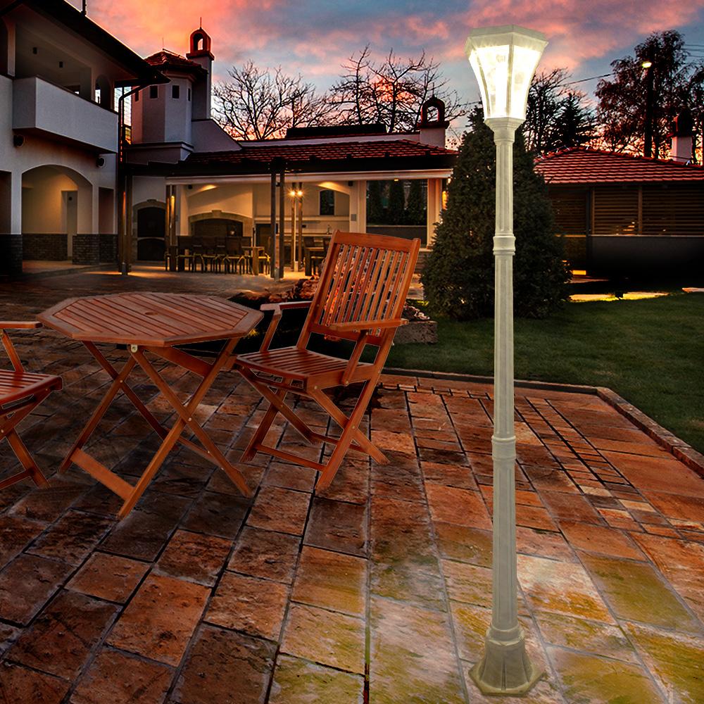 ヨーロピアンソーラー LED 街灯 | 屋外 庭 ガーデン 照明 ガーデンライト ライト エクステリアライト ガーデニングライト 屋外照明 ソーラー ガーデンソーラーライト ソーラーライト 外灯 おしゃれ かわいい 玄関照明 ledライト おうち時間 ガーデンファニチャー 屋外家具