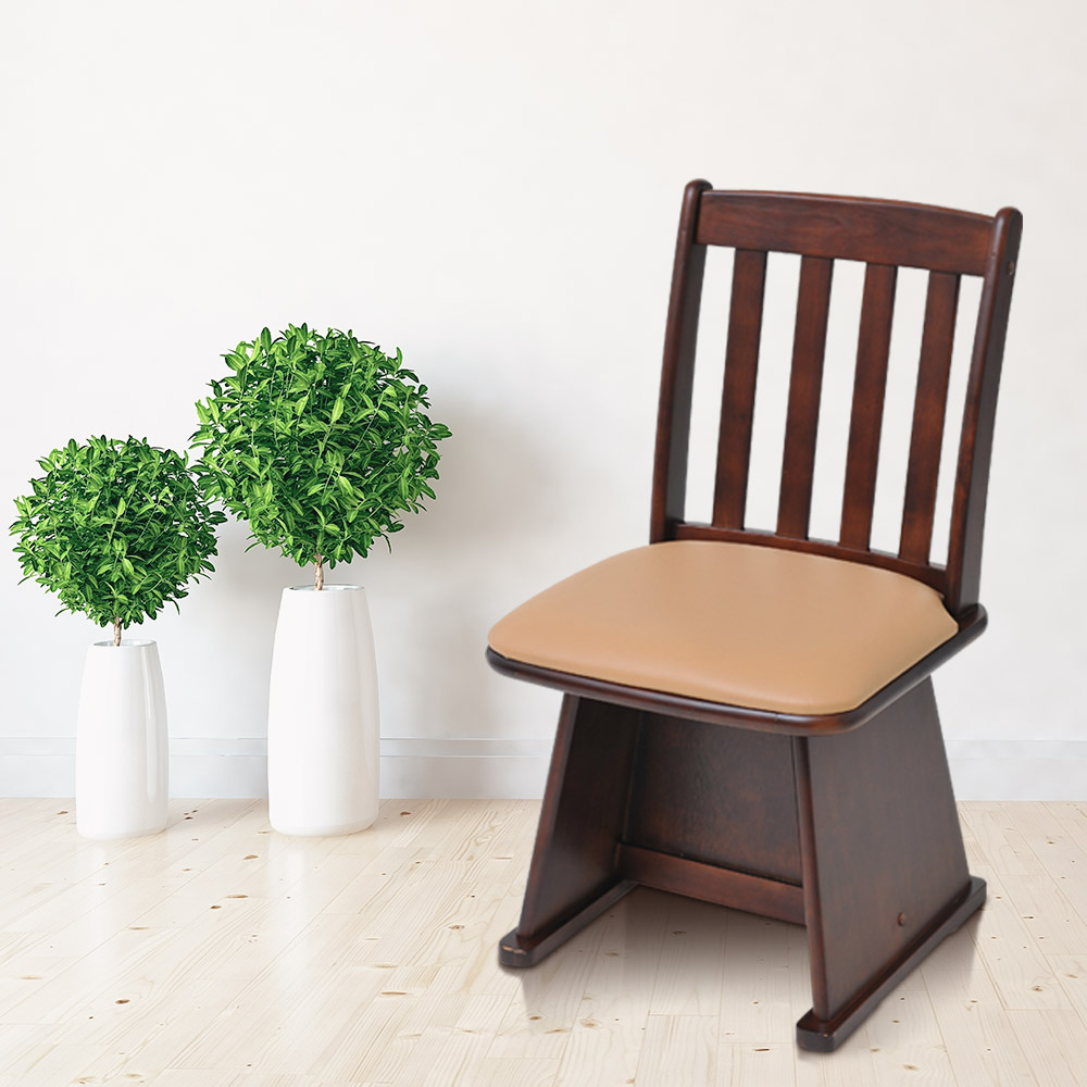 【代金引換不可】パーソナルこたつ用椅子 | 回転座椅子 回転椅子 回転チェア 高座椅子 おしゃれ オシャレ インテリア