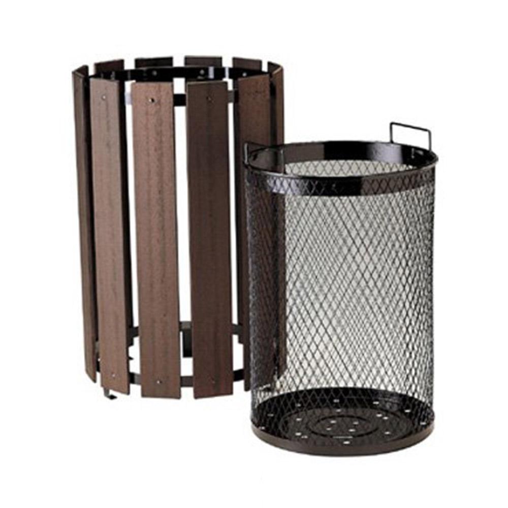 【代金引換不可】ダストボックス 木調くずいれ 容量44リットル(業務用)|ゴミ箱 分別ゴミ 資源回収 産業廃棄物 分別回収 ごみ ゴミ ペール ごみ箱 ごみばこ 分別ごみ箱 分別 ゴミ入れ 分別ペール 分別ダストボックス