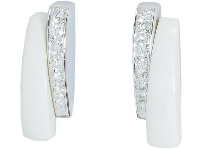 タサキ TASAKI ダイヤイヤリング K18WGホワイトゴールドダイヤモンドイヤリング 送料無料 ロイヤルブルー 信託 中古 当店一番人気