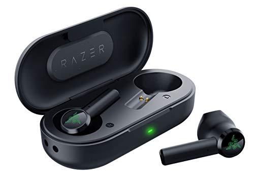 新品 即納 Razer 売買 Hammerhead True Wireless ワイヤレスイヤホン ゲーミングイヤホン 日本正規代理店保証品 RZ12-02970100-R3A1 超低遅延接続 買物 マイク付き 国内送料無料 IPX4.0防水 Bluetooth5.0 最大16時間駆動
