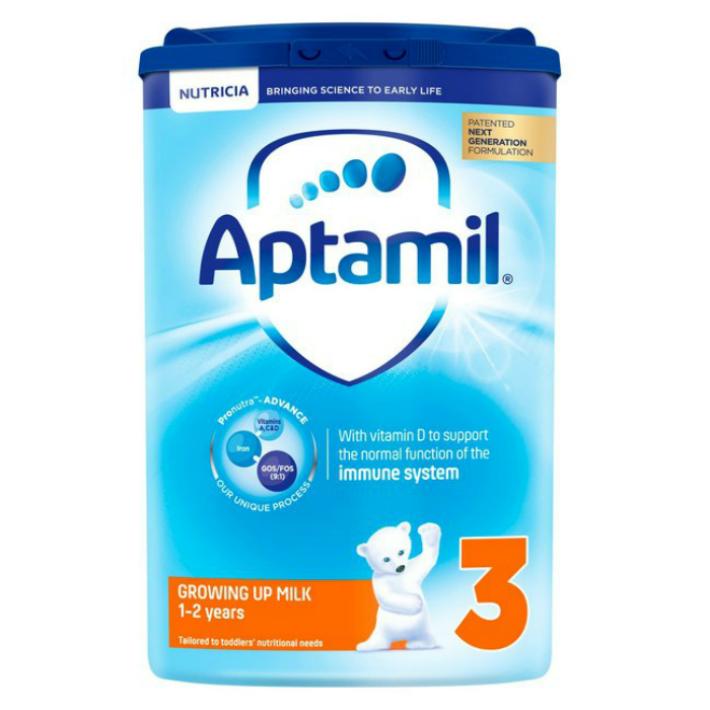 【800g 1個・1歳から】Aptamil (アプタミル) 乳児用粉ミルク [ヌクレオチド配合 厳しい ヨーロッパ 基準の粉ミルク!]