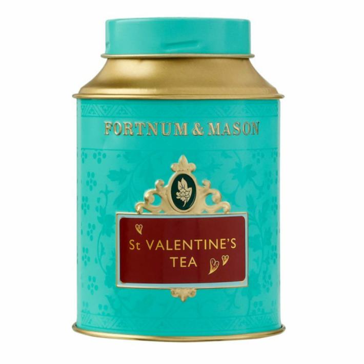 50g x 2缶セット FORTNUM 2020A W新作送料無料 MASON St Valentine's Loose Leaf Tea 数量限定 バラの花びらスイートハイビスカス 英国紅茶 メイソン フォートナム アンド リーフティー セント イギリス直送 バレンタイン