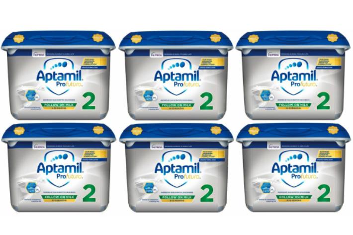 安値 800g 6個セット 6ヵ月から 直送商品 New Aptamil Profutura 2 まとめ買いでお得 乳児用粉ミルク on 新アプタミル milk Follow
