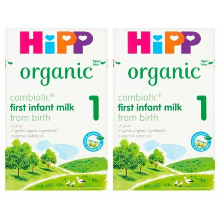 800g ハイクオリティ 2箱セット 0カ月から HiPP 通信販売 ヒップ オーガニック粉ミルク COMBIOTIC organic 新生児から