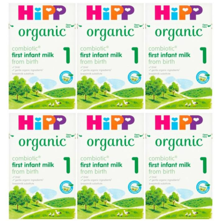 800g 6箱セット 0カ月から HiPP ヒップ COMBIOTIC 期間限定送料無料 まとめ買いでお得 organic オーガニック粉ミルク ランキングTOP10