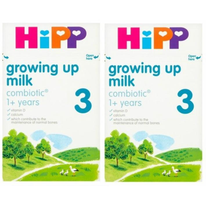 600g 2箱セット 1歳から HIPP ヒップ 送料無料 激安 お買い得 キ゛フト 厳しいヨーロッパ基準の粉ミルク COMBIOTIC 直営店 growing up milk