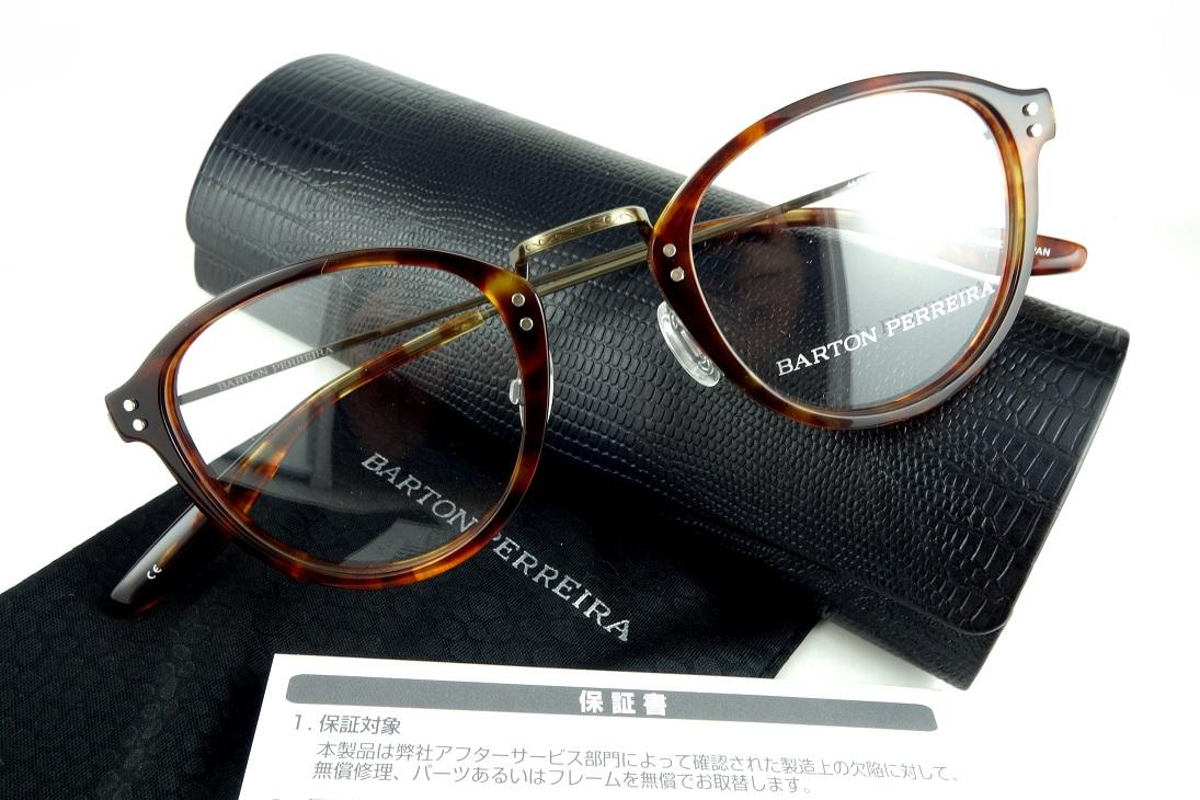 BARTON PERREIRA/バートンぺレイラGETTY CHE/ANG眼鏡フレーム【送料無料】【基本レンズ無料】-正規品保証書付-