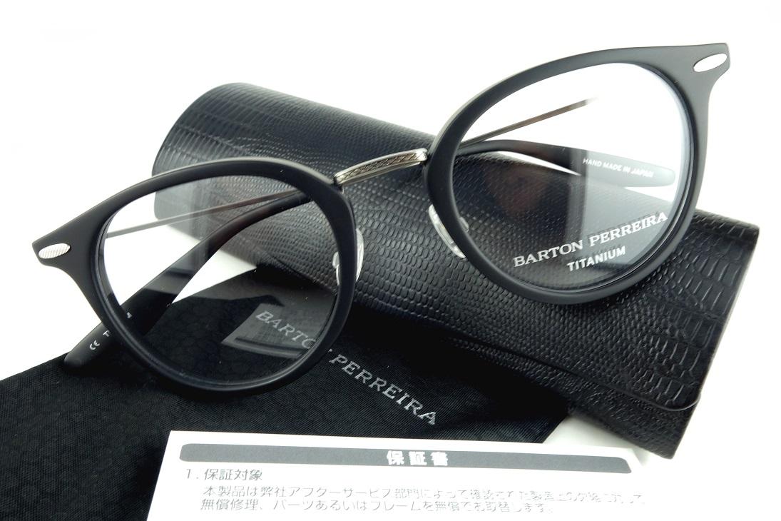 BARTON PERREIRA/バートンぺレイラCAMBRIDGE MBL/PEW眼鏡フレーム【送料無料】【基本レンズ無料】-正規品保証書付-