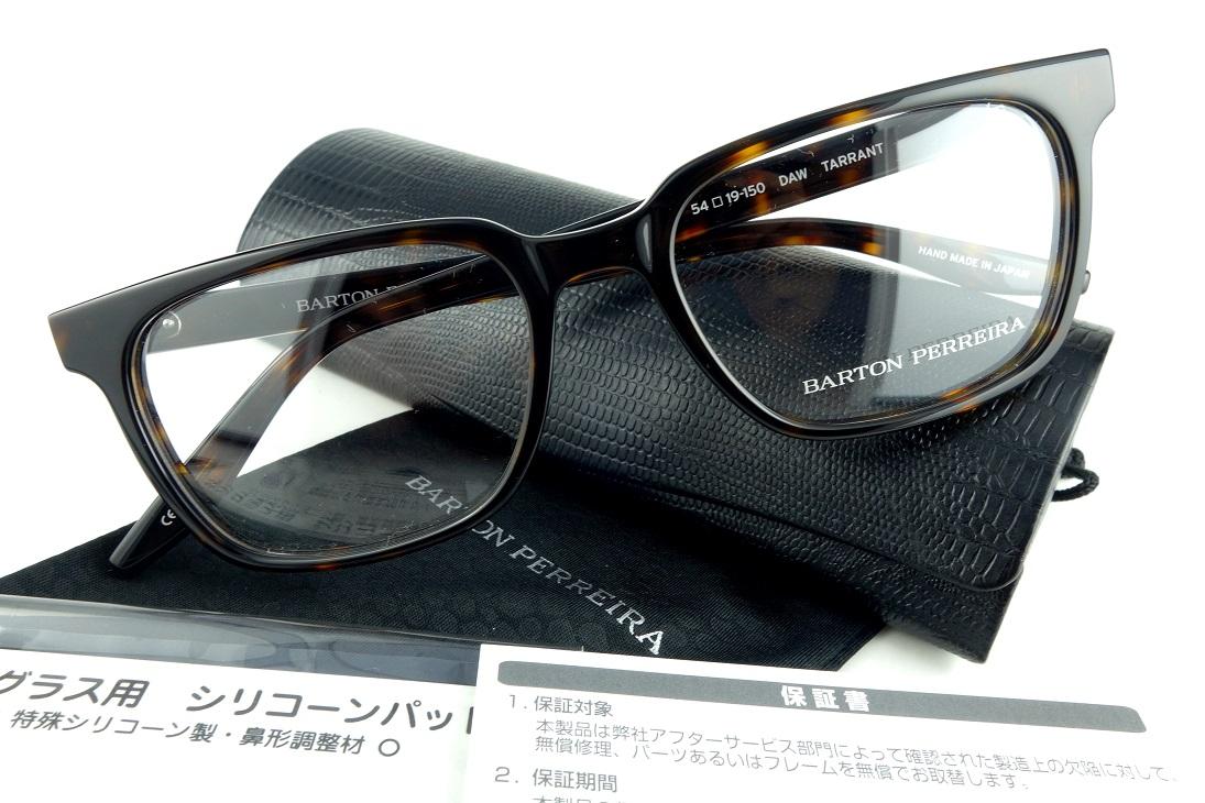 BARTON PERREIRA/バートンぺレイラTARRANT DAW眼鏡フレーム【送料無料】【基本レンズ無料】-正規品-