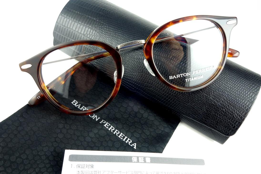 BARTON PERREIRA/バートンぺレイラCAMBRIDGE CHE/PEW眼鏡フレーム【送料無料】【基本レンズ無料】-正規品保証書付-