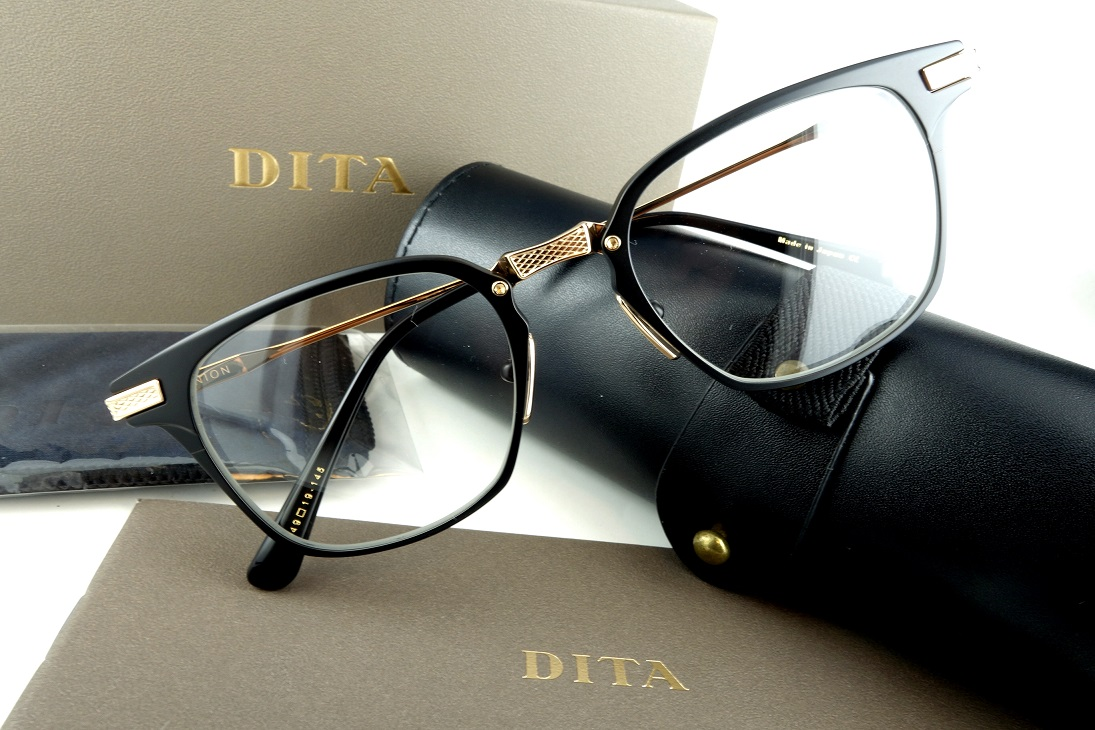 DITA/ディータUNIONDRX-2068-F-BLK-GLD-49基本レンズ無料-正規品-人気モデル【送料無料】