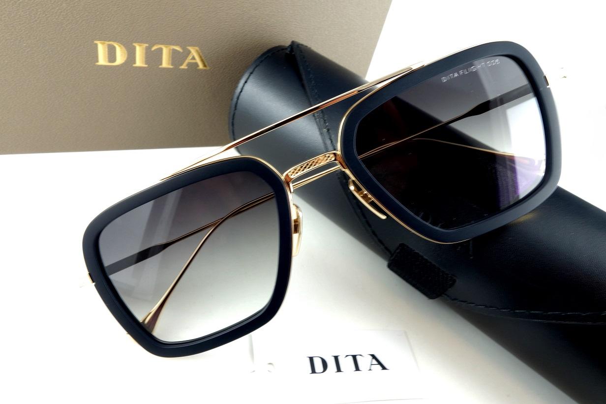 DITA/ディータFlight.0067806-B-BLK-GLD-52サングラス【送料無料】人気モデル再入荷!
