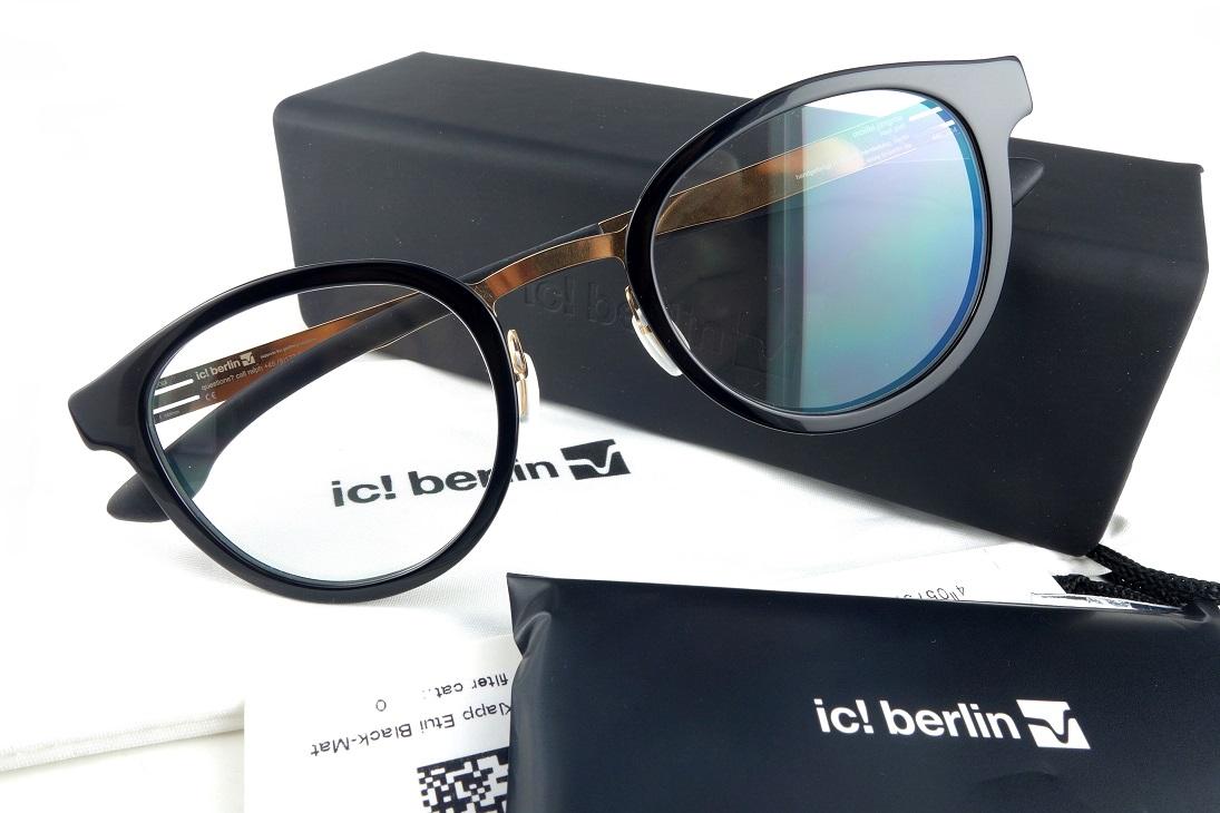 ic!berlin/アイシーベルリン custom fitJangmaRosegold-Black【基本レンズ無料】【送料無料】2018モデル