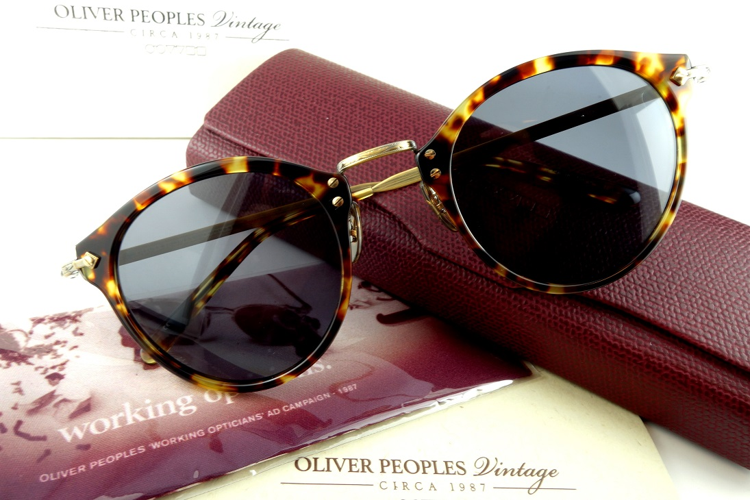 OLIVER PEOPLES/オリバーピープルズ 505 SUN 49 DTB-GRY偏光サングラスPOLARIZED【送料無料】人気モデル再入荷!