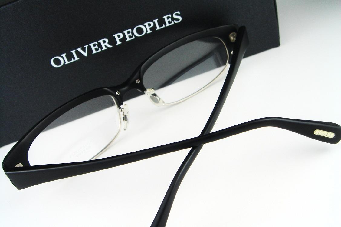 【スペシャル限定セール】OLIVER PEOPLES/オリバーピープルズ Flux MBKチタンコンビフレーム【送料無料】【基本レンズ無料】