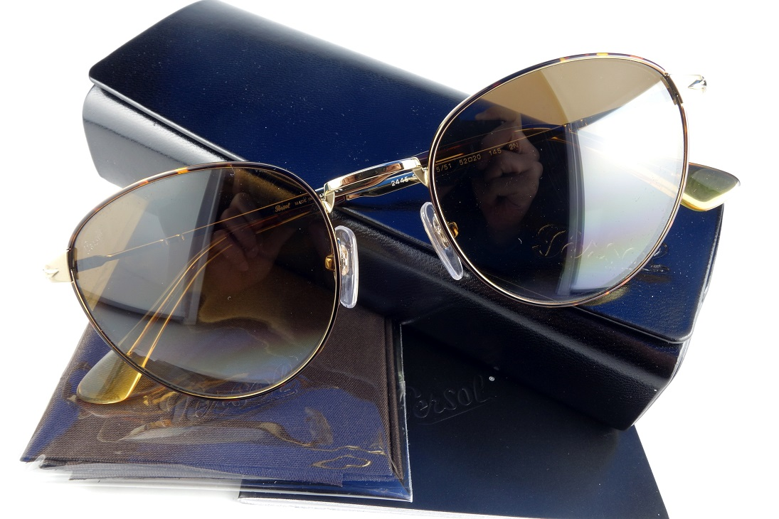 Persol/ペルソール 2445-S 1075/51-国内正規品-Hand made in Italyボストンタイプサングラスユニセックス【送料無料】