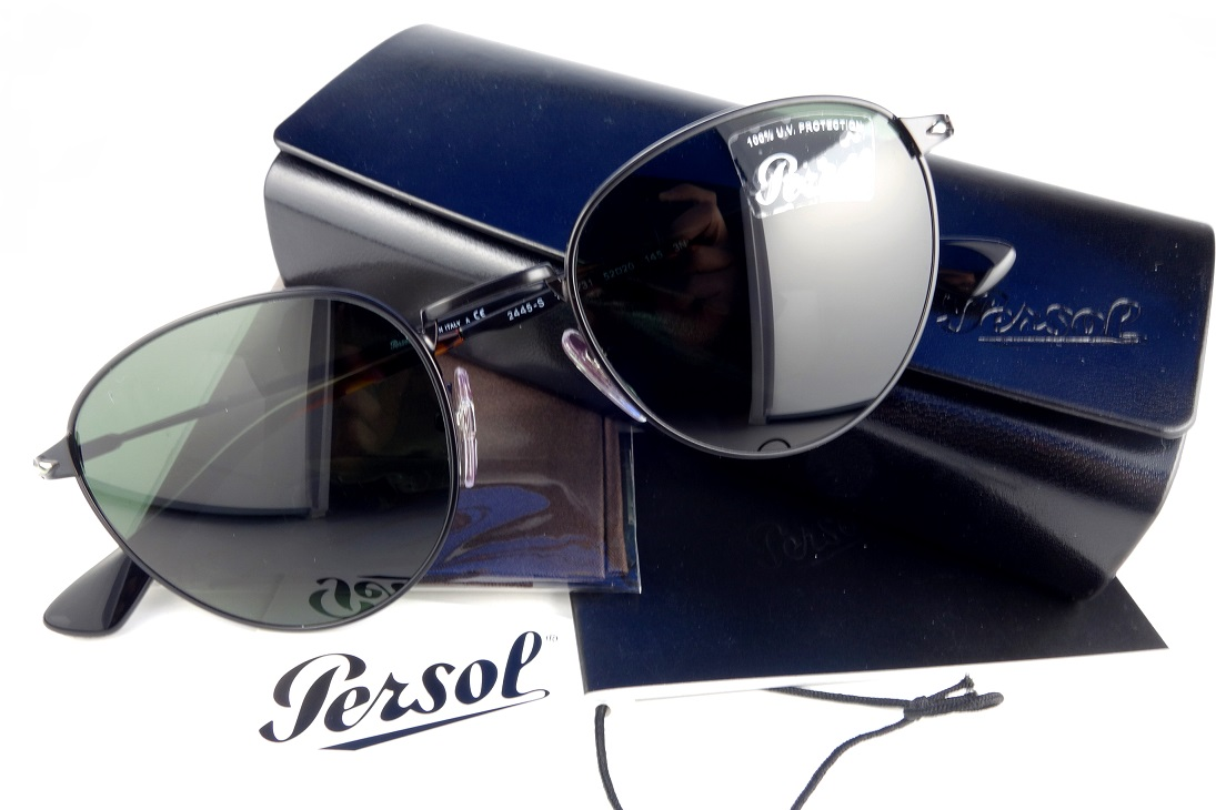 Persol/ペルソール 2445-S 1078/31-国内正規品-Hand made in Italyボストンタイプサングラスユニセックス【送料無料】