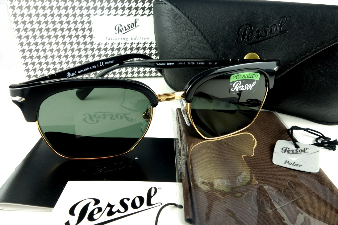 Persol/ペルソール 3199-S 95/58偏光サングラスHand made in ItalyToiloring Edition -国内正規品-【送料無料】POLARIZED