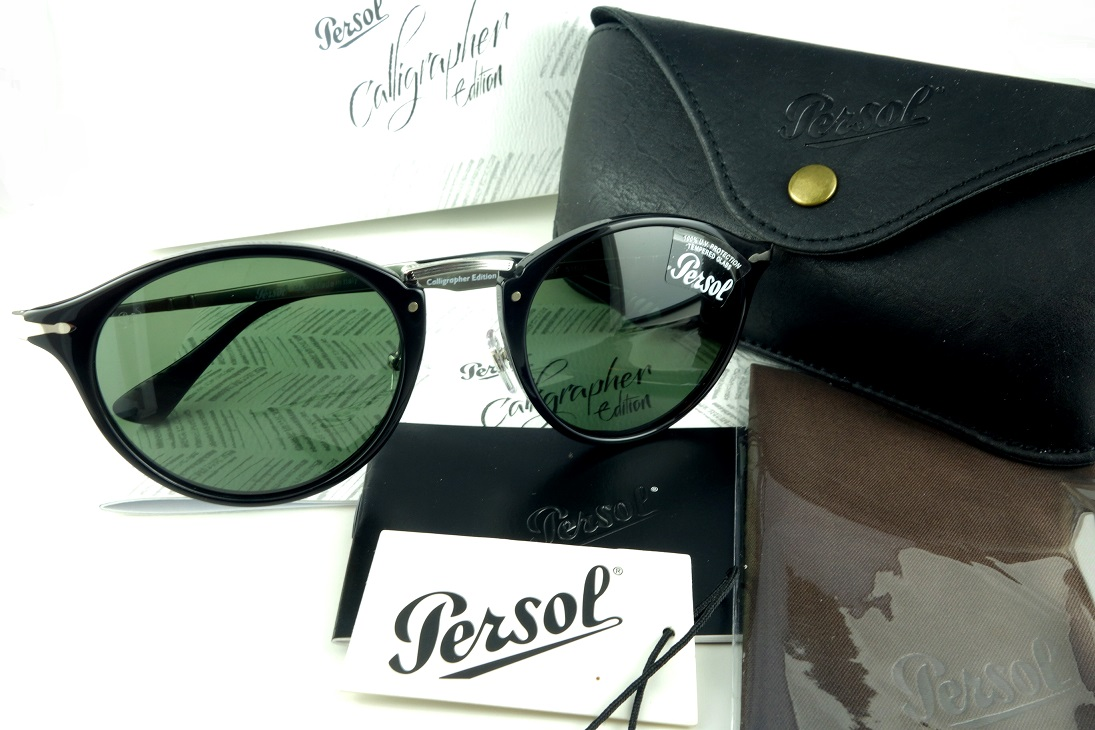 Persol/ペルソール 3166-S 95/31サングラスHand made in ItalyCalligrapher Edition -国内正規品-【送料無料】