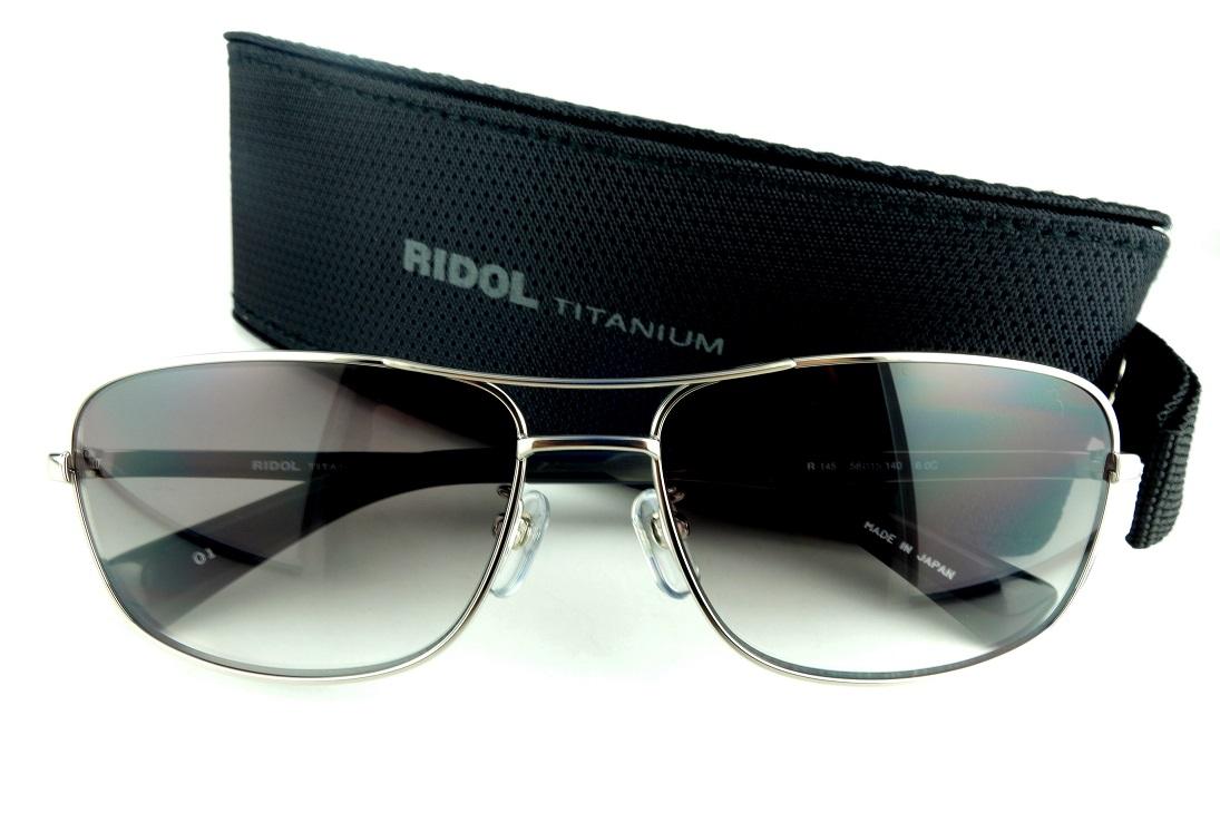 RIDOL TITANIUM/リドルチタニウムR-145 C1UV400カットサングラス【送料無料】人気モデル再入荷!