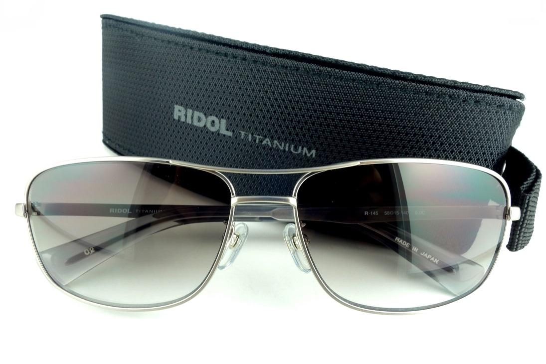 RIDOL TITANIUM/リドルチタニウムR-145 C2UV400カットサングラス【送料無料】人気モデル再入荷!