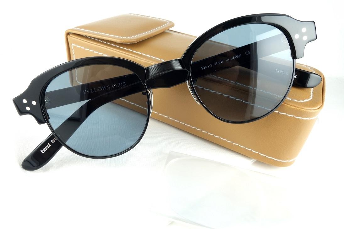 YELLOWS PLUS/イエローズプラス COX C1BKサングラス/眼鏡フレーム【送料無料】2018モデル