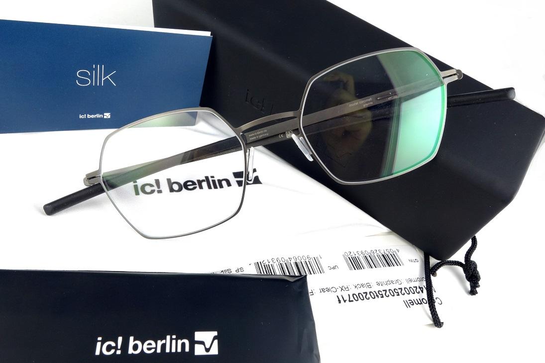 ic!berlin/アイシーベルリン Coromell Graphite【送料無料】【基本レンズ無料】