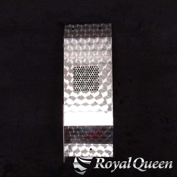 【送料無料】【日野 グランドプロフィア トラクターヘッド車 サイドマフラーカバー ウロコ柄】HINO Gプロ トラック デコトラ パーツ トラック用品 ステンレス Quon RoyalQueen