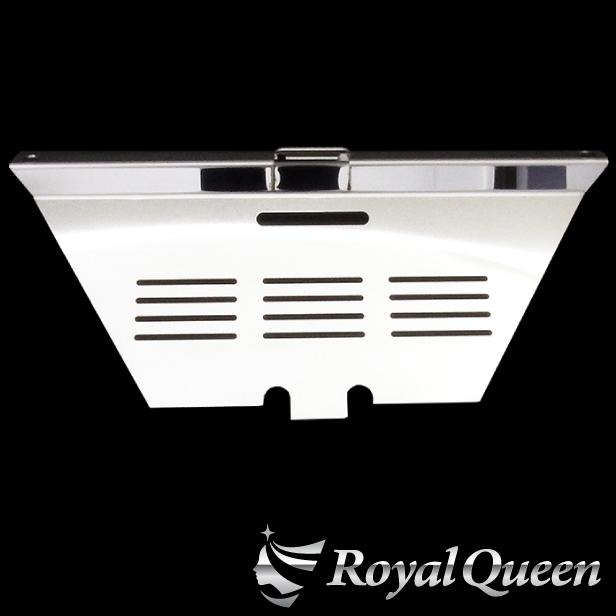 【送料無料】【グランドプロフィア用 バッテリーカバー1 パネル 鏡面】トラック デコトラ パーツ トラック用品 ステンレス RoyalQueen