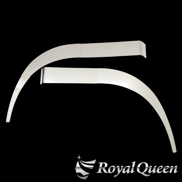 オリジナル商品 送料無料 日野 グランドプロフィア フェンダーパネル 6点セット 鏡面 レビューを書けば送料当店負担 左右セット HINO トラック おすすめ Gプロ ステンレス デコトラ トラック用品 グラプロ RoyalQueen パーツ