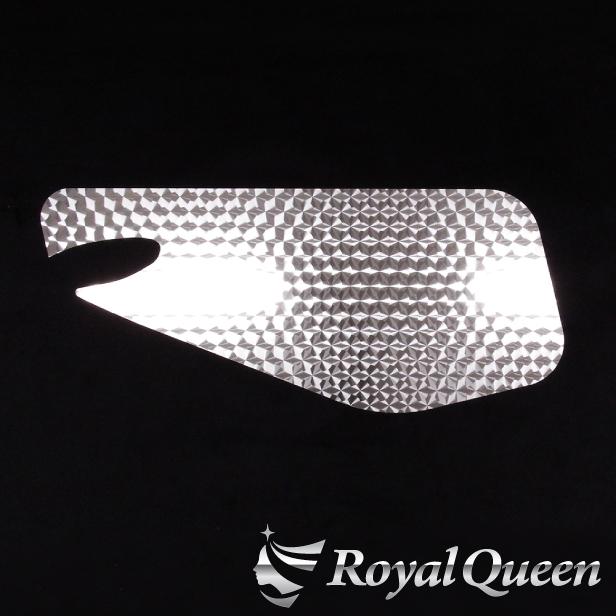 【送料無料】【三菱ふそう ベストワンファイター/ニューファイター ドアガーニッシュ ウロコ】FUSO トラック デコトラ パーツ トラック用品 ステンレス RoyalQueen