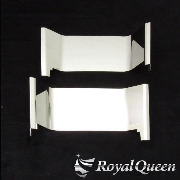 【送料無料】【三菱ふそう 新型 17 スーパーグレート ローキャブ用 ステップパネルC 鏡面 磨き#1000】FUSO スパグレ ステンレス トラック デコトラ パーツ トラック用品 RoyalQueen