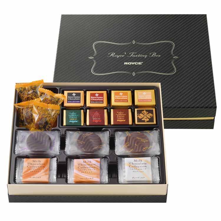 奥深いロイズのチョコレートの世界をひと箱に 公式 ロイズ テイスティングボックスプレゼント ギフト プチギフト スイーツ スイーツセット かわいい 超人気 おしゃれ グルメ カラフル 詰め合せ 詰合せ チョコ 評判 詰め合わせ チョコレート