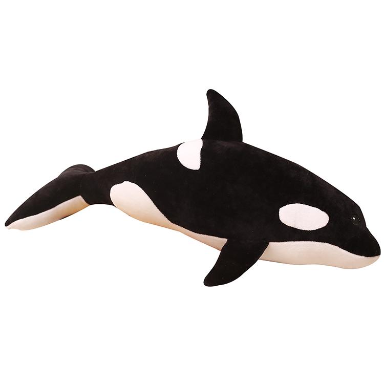 ぬいぐるみクッション クジラ 超大 シャチ 巨大 抱き枕 子供 プレゼント 男の子 お誕生日プレゼント 特大 ふわふわ 動物 おもちゃ ギフト 贈り物 店飾り 120cm