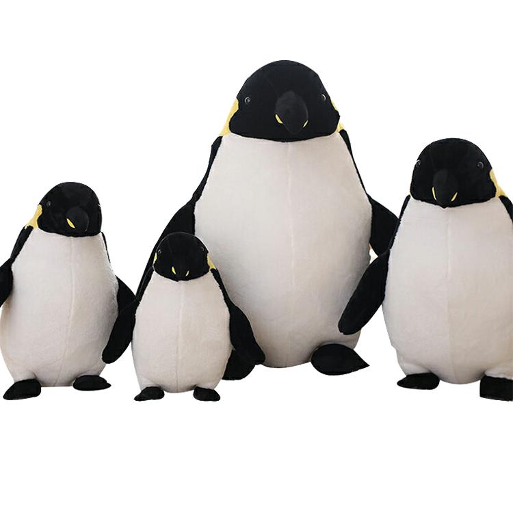 ペンギン 可愛い ぬいぐるみ コウテイペンギン ふわふわ 海洋生物 プレゼント 家族 孫 海洋生物 水族館 彼女 リアル インテリア 送料無料 高55cm