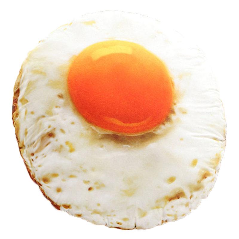 クッション 抱き枕 目玉焼き 卵 かわいい インテリア 飲食店 食べ物 リアル イベント 抱き枕 プレゼント 直径90cm