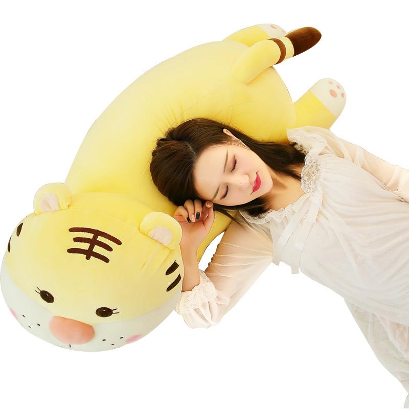 トラのぬいぐるみ tiger 大きいぬいぐるみ タイガー 枕 動物 抱き枕 ふわふわ プレゼント インテリア 95cm
