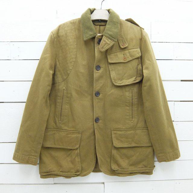 Ralph Lauren ラルフローレン コットン ハンティングジャケット リバーシブル ブラウン メンズ XLサイズ相当 / jkt696 / 【中古】