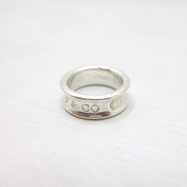 Tiffany & Co. ティファニー 1837 リング 925 シルバー 97's オールド 8号 / ring8 / 【中古】