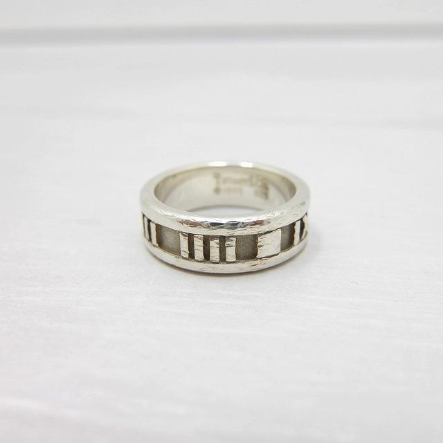 Tiffany & Co. ティファニー アトラスリング 925 シルバー 95's オールド 9号 / ring9 / 【中古】