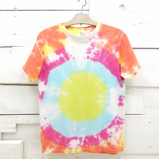 FRUIT OF THE LOOM フルーツオブザルーム タイダイ 2020モデル 無地 中古 tshirt15sa Sサイズ Tシャツ 特別セール品 メンズ