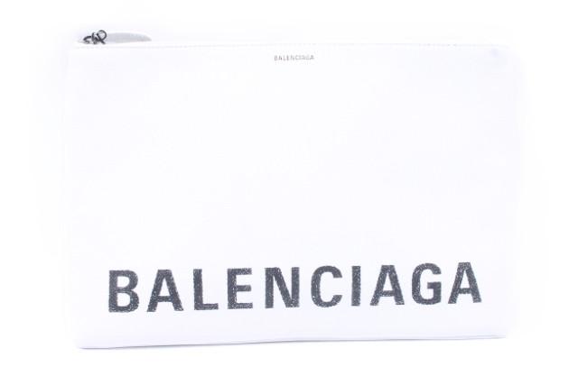 【新入荷!!】バレンシアガ 529313 VILLEビルポーチクラッチバッグL[LBGP62927]【中古】【5400円以上のご購入で送料無料】